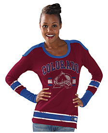 G-III Sports Women's Long-Sleeve Colorado Avalanche PP Thermal T-Shirt