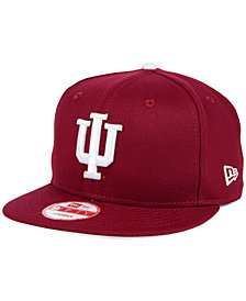 New Era Indiana Hoosiers Core 9FIFTY Snapback Cap