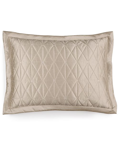 Hotel Collection Finest Sunburst Quilted Standard Sham, Created for Macy's