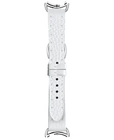 Fendi Timepieces Women's Selleria White Leather Watch Strap S02RR17RA4S