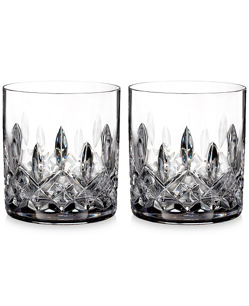 Waterford Crystal Lismore Straight-Sided Tumblers, Set of 2