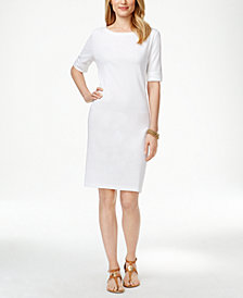 Karen Scott T-Shirt Dress, Created for Macy's