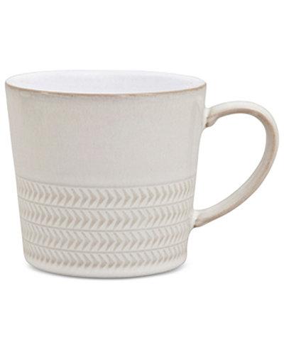 Denby Natural Canvas Stoneware Textured Large Mug