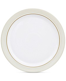 Natural Canvas Stoneware Dinner Plate