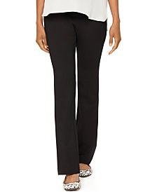 A Pea in the Pod Maternity Bootcut Ponte Dress Pants