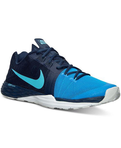 ... Nike Men s Train Prime Iron Dual Fusion Training Sneakers from Finish  ... 3209aea82