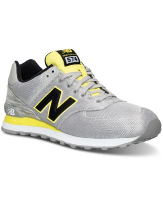 ... Athletic Shoes. New Balance Men\u0027s 574 Summer Waves Casual Sneakers from  Finish Line