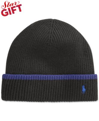 Polo Ralph Lauren Tipped Merino Cuff Hat