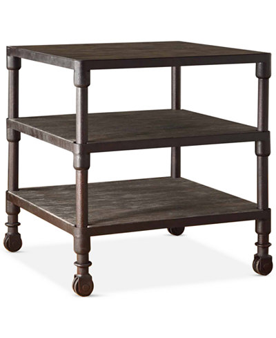 Clayton 3 Tier End Table, Quick Ship