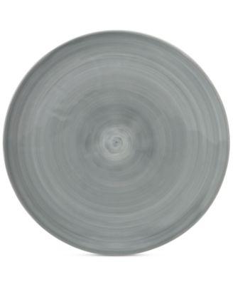 Savona Porcelain Gray Dinner Plate