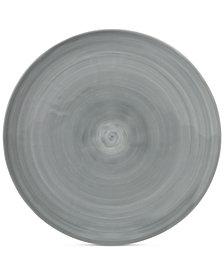 Mikasa Savona Porcelain Gray Dinner Plate