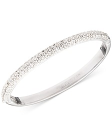 Crystal Pavé Bangle Bracelet, Created for Macy's