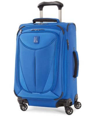 "Image of Travelpro Walkabout 3 21"" Expandable Carry On Spinner Suitcase, Only at Macy's"