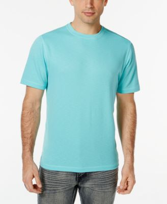 Image of Tasso Elba UPF 30+ Performance Crew Neck Shirt, Only at Macy's