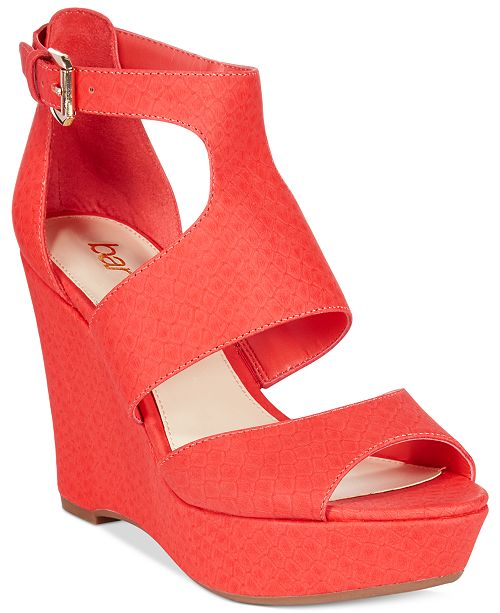 Bar III Sophie Wedge Sandals, Created for Macy's