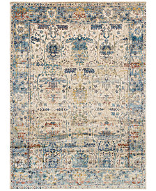 "Macy's Fine Rug Gallery Andreas   AF-07 Sand/Light Blue 6'7"" x 9'2"" Area Rug"