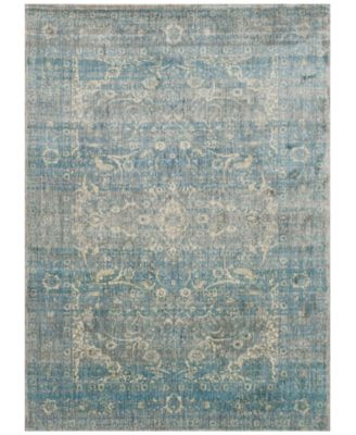 "Andreas   AF-10 Light Blue/Mist 2'7"" x 4' Area Rug"