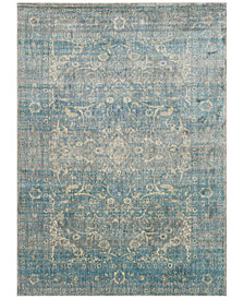 "Macy's Fine Rug Gallery Andreas   AF-10 Light Blue/Mist 2'7"" x 4' Area Rug"