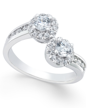Two Souls, One Love Diamond Anniversary Ring