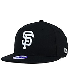 Kids' San Francisco Giants B-Dub 9FIFTY Snapback Cap