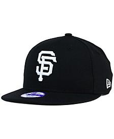 Kids' San Francisco Giants B-Dub 9FIFTY Snapback Cap