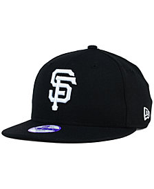 New Era Kids' San Francisco Giants B-Dub 9FIFTY Snapback Cap