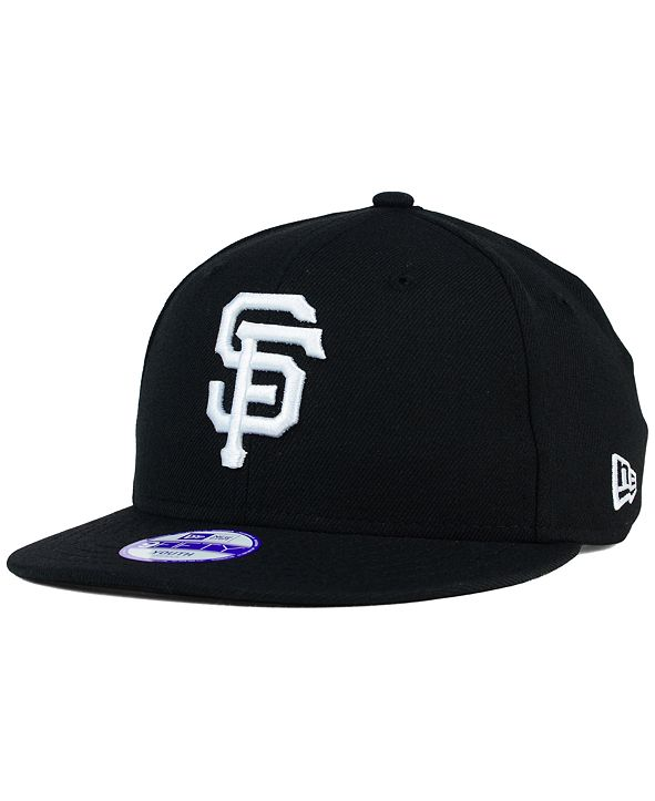 New Era Kids' San Francisco Giants B-Dub 9FIFTY Snapback Cap