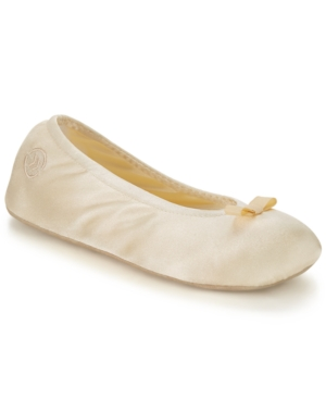 Isotoner Satin Ballerina Slipper