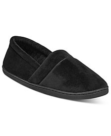 Charter Club Microvelour Memory Foam Slippers, Created for Macy's
