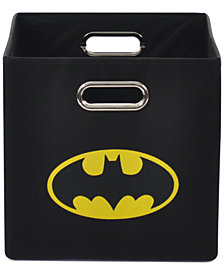 Modern Littles Batman Logo Folding Storage Bin
