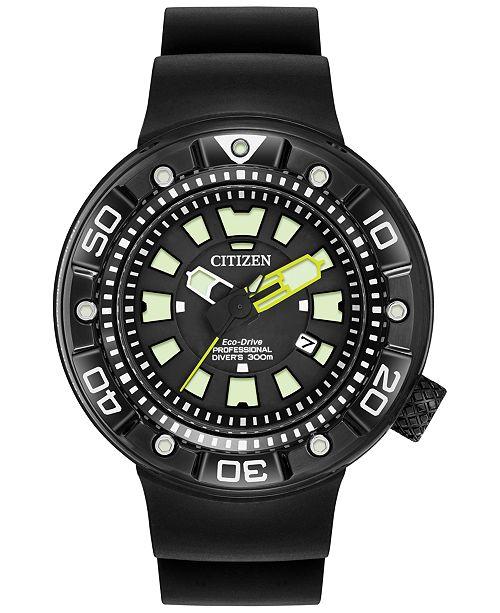Citizen Men's Eco-Drive Black Strap Watch 48mm BN0175-19E