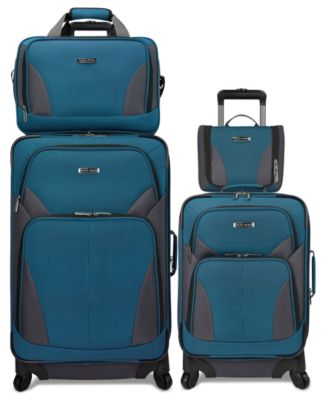Image of Travel Select Allentown 4 Piece Spinner Luggage Set, Only at Macy's