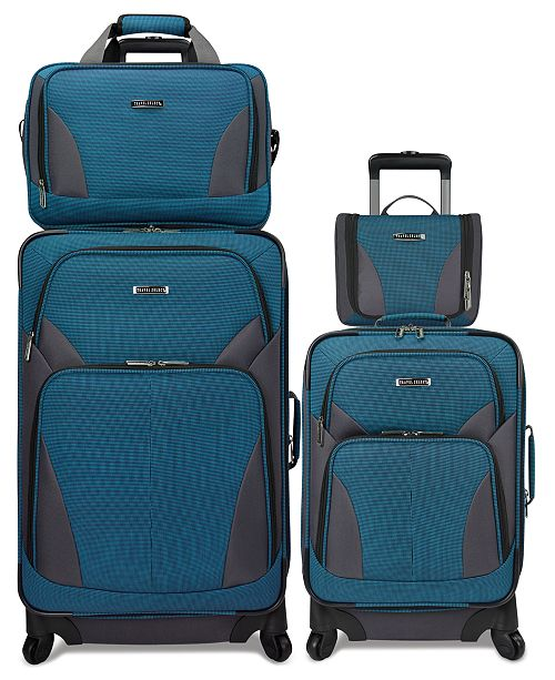 Travel Select CLOSEOUT! Allentown 4 Piece Spinner Luggage Set, Created for Macy's