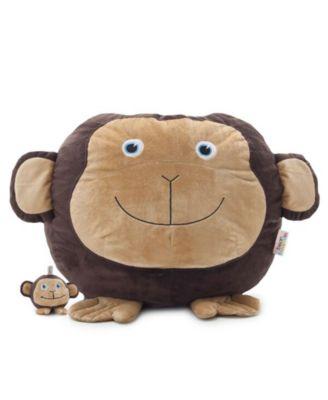 Big Joe Maya the Monkey Bean Bag with Toy, Quick Ship
