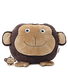 Big Joe Maya the Monkey Bean Bag with Toy, Quick Ship