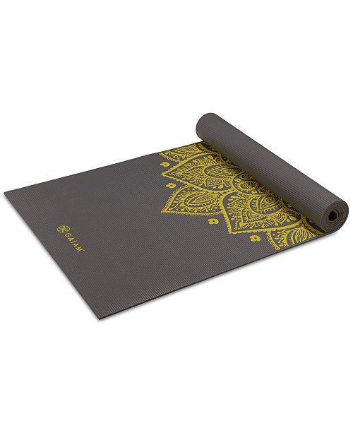 Gaiam Premium Citron Sundial Yoga Mat 5mm Reviews Women S Brands Women Macy S