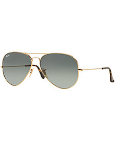 Ray-Ban ORIGINAL AVIATOR GRADIENT Sunglasses, RB3025 58