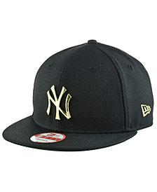 New Era New York Yankees League O'Gold 9FIFTY Snapback Cap