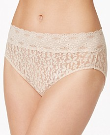 Halo Sheer Lace Hi Cut Brief 870305