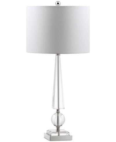 Decorator's Lighting Emery Obelisk Crystal Buffet Table Lamp
