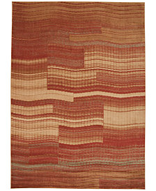 "CLOSEOUT! Nourison Somerset Pathway Flame 3'6"" x 5'6"" Area Rug"