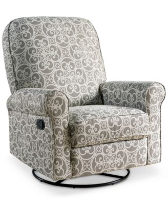 Levina Fabric Nursery Swivel Glider Recliner Quick Ship  sc 1 st  Macyu0027s & Levina Fabric Nursery Swivel Glider Recliner Quick Ship ... islam-shia.org