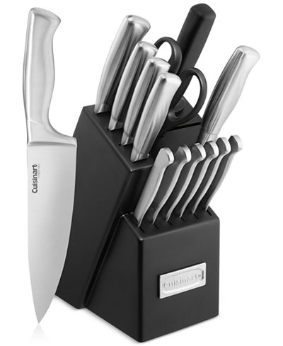 Cuisinart Clic Stainless Steel 15 Pc Cutlery Set