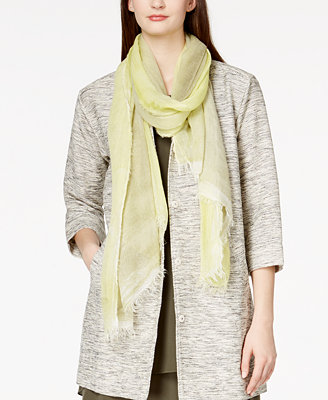 eileen fisher fringed scarf macy s