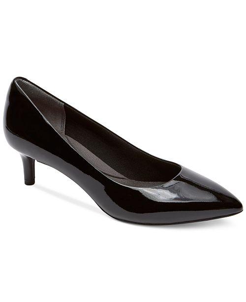 Rockport Women's Total Motion Kalila Kitten-Heel Pumps Women's Shoes zDBOlf1KvZ