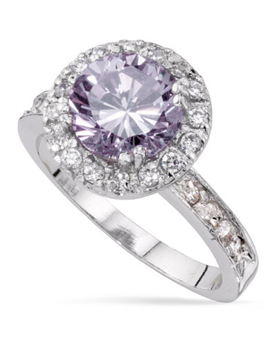 Charter Club Round Cubic Zirconia Ring, Created for Macy's