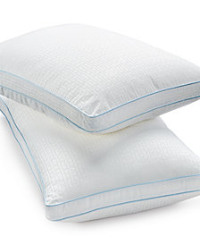 CLOSEOUT! SensorGel Signature SensorElle Memory Fiber Down Alternative Pillows, Gusseted, Created for Macy's
