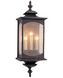 Feiss Market Square 3-Light Wall Lantern