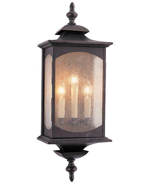 Centennial Feiss Market Square 3-Light Wall Lantern