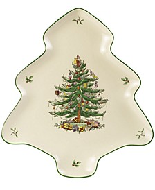 Christmas Tree Serveware Shaped Platter